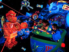 Buzz Lightyear Astro Blasters, Images taken from the Disneyland Park website
