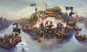 Disneyland Park | Pirate's Lair on Tom Sawyer Island