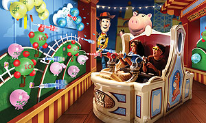 Images taken from the Disneyland Park website
