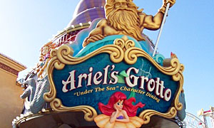"""Ariel's Disney Princess Celebration"" at Ariel's Grotto"