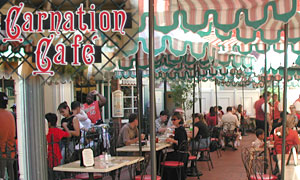 (Mini guide) Les restaurants de Disneyland Resort en Californie CarnationCafeDinLowBand