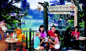 (Mini guide) Les restaurants de Disneyland Resort en Californie HungryBearDinLowBand